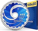 FALKENWALD ® Sägeblatt 165x20 mm ideal...