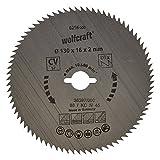 Wolfcraft 6256000 Kreissäge-Blatt 130 x...